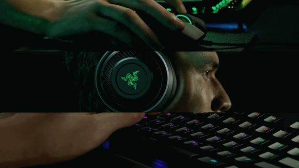 Razer Hypersense bedeutet laut Razer Immersion durch haptisches Feedback.