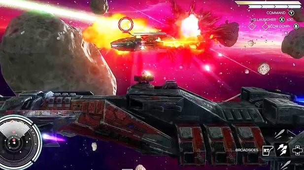 Rebel Galaxy - Ankündigungs-Trailer mit Gameplay