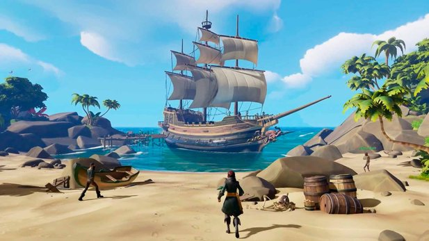 Sea of Thieves - Entwickler-Video erklärt das Voyage-System des Piratenabenteuers