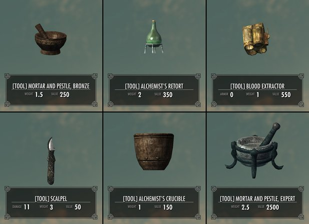 Skyrim Mod: Complete Alchemy and Cooking Overhaul