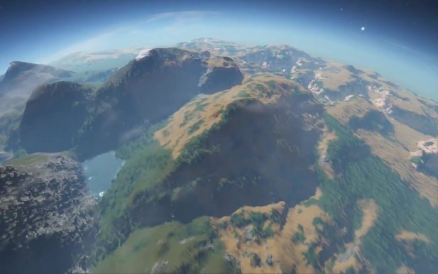 Space Engineers - Trailer zum Planeten-Update