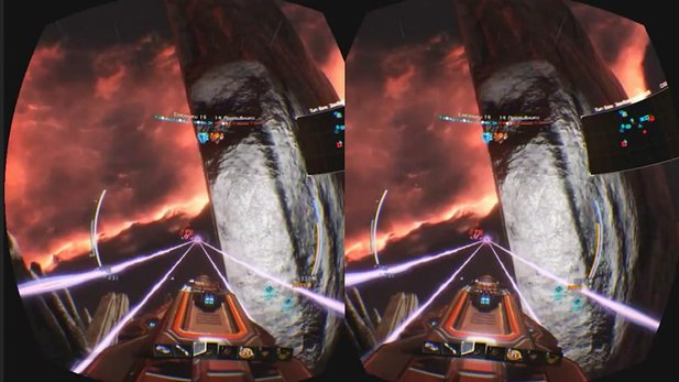 Oculus-Rift-Video von Star Conflict
