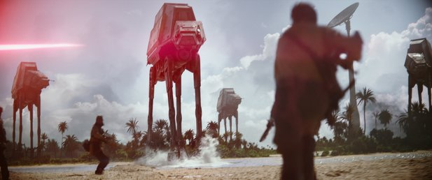 Planet Scarif kennen wir bereits aus Star Wars: Rogue One.