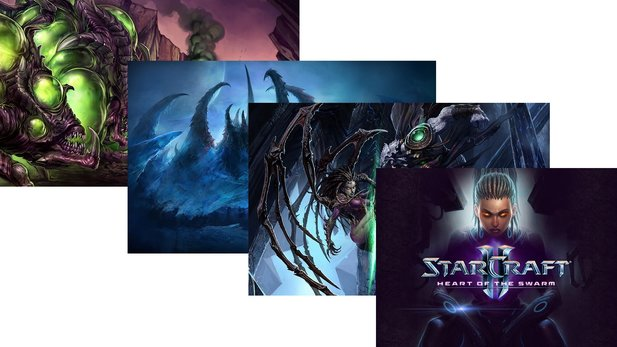 StarCraft 2: Heart of the Swarm - Wallpaper : StarCraft 2: Heart of the Swarm - Wallpaper