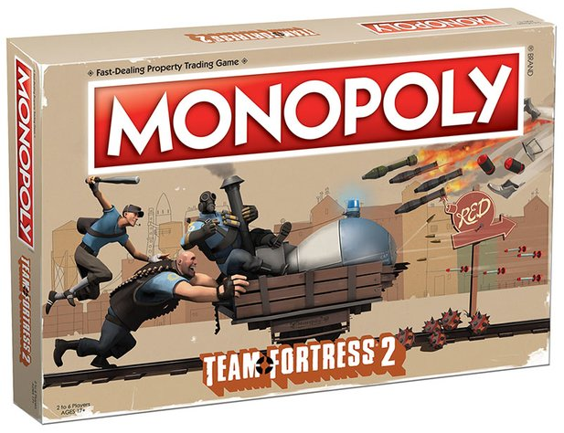 """Team Fortress 2""-Monopoly (Bildquelle: USAOpoly)."