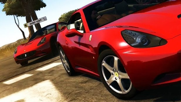 Ferrari-Trailer zu Test Drive Unlimited 2