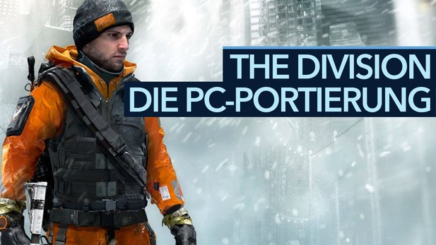 The Division - PC-Portierung und Optionsmenü