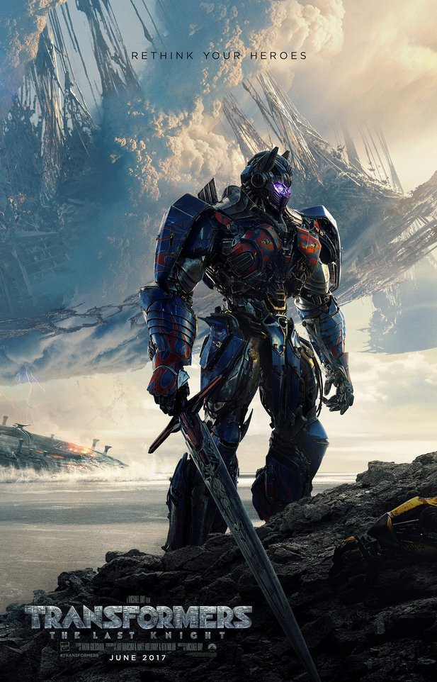Poster zu Transformers 5: The Last Knight.
