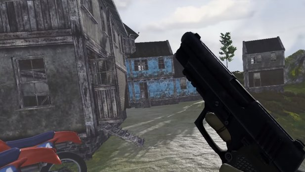 Virtual Battlegrounds - Gameplay-Trailer zeigt frühe Alpha-Spielszenen des Battle Royale Spiels