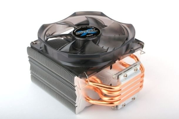 Niedrigpreis-Kühler mit Direct-Touch-Heatpipes - Zalman CNPS 10X Optima.