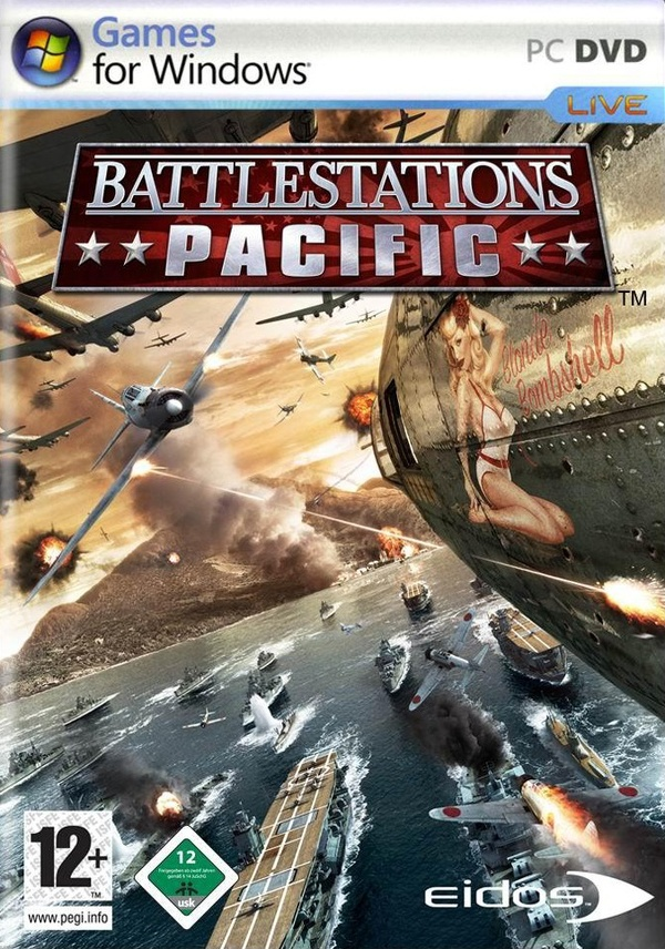 Cover zu Battlestations: Pacific