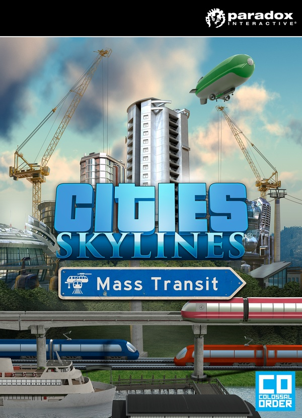 Cover zu Cities: Skylines - Mass Transit