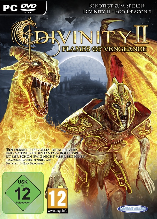 Cover zu Divinity 2: Flames of Vengeance