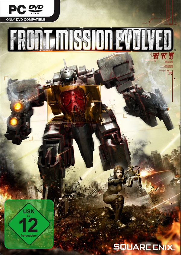 Cover zu Front Mission Evolved
