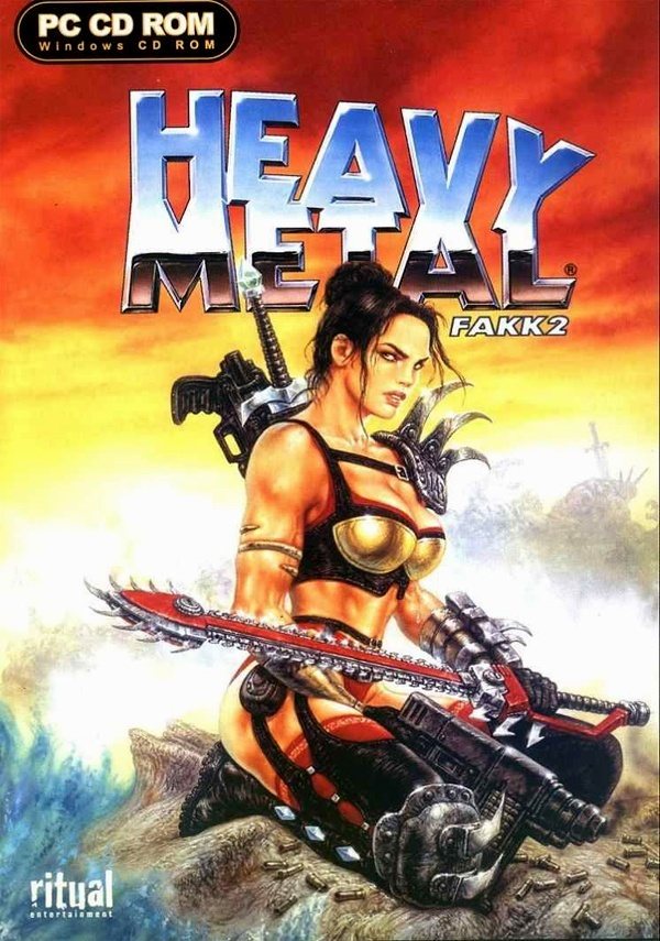 Cover zu Heavy Metal: F.A.K.K. 2