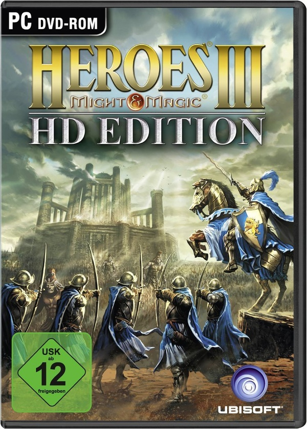 Cover zu Heroes of Might & Magic 3 HD