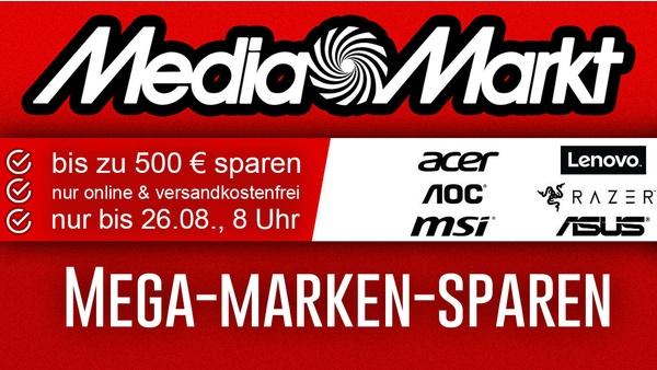 MediaMarkt – Mega-Marken-Sparen mit vielen Angeboten