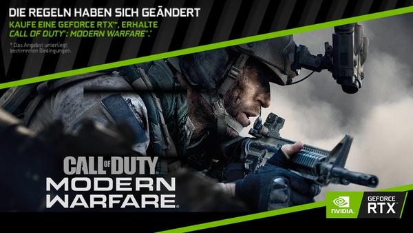 COD: Modern Warfare - gratis zu allen GameStar-PCs mit RTX