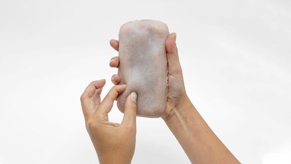 Ekel-Cover oder die Zukunft - Smartphone-Hülle aus künstlicher Haut