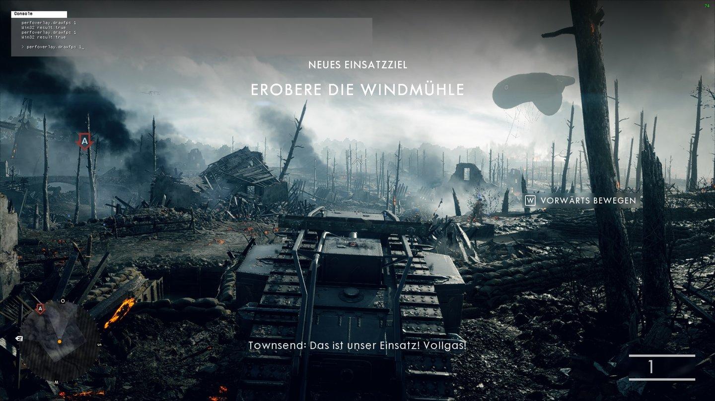 Battlefield 1 - Konsole aktivieren und fps anzeigen - GameStar