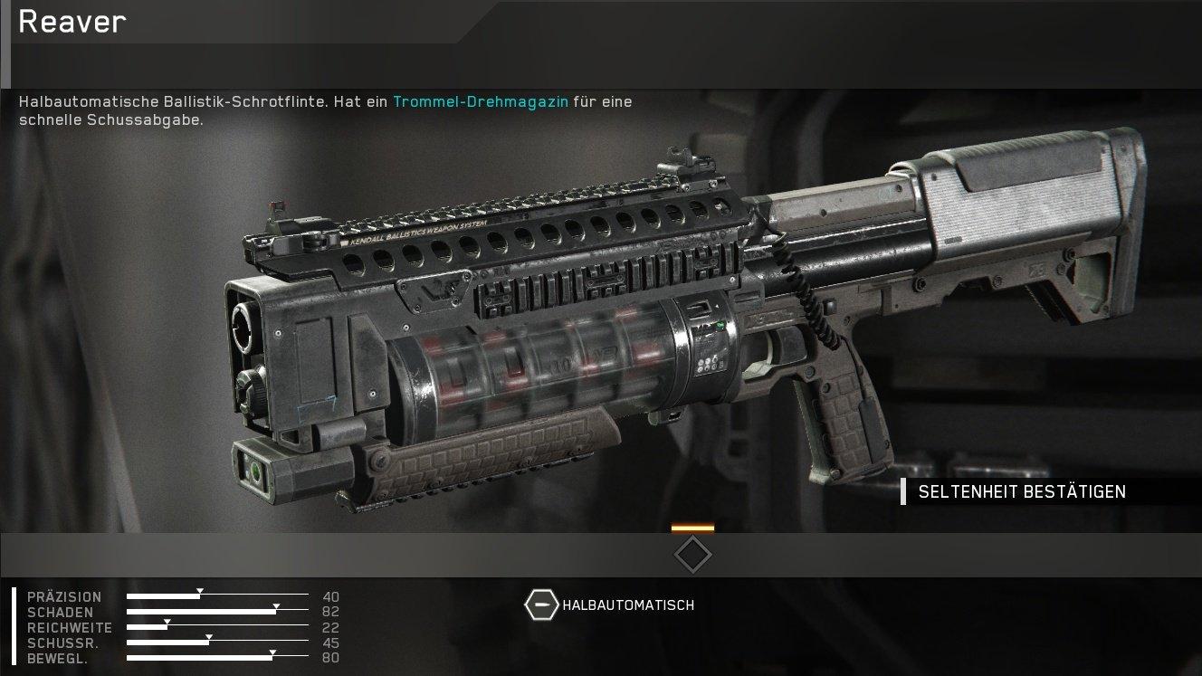 Call Of Duty Infinite Warfare Waffen