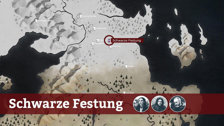 Got Karte Norden.Game Of Thrones Reisefuhrer Durch Westeros