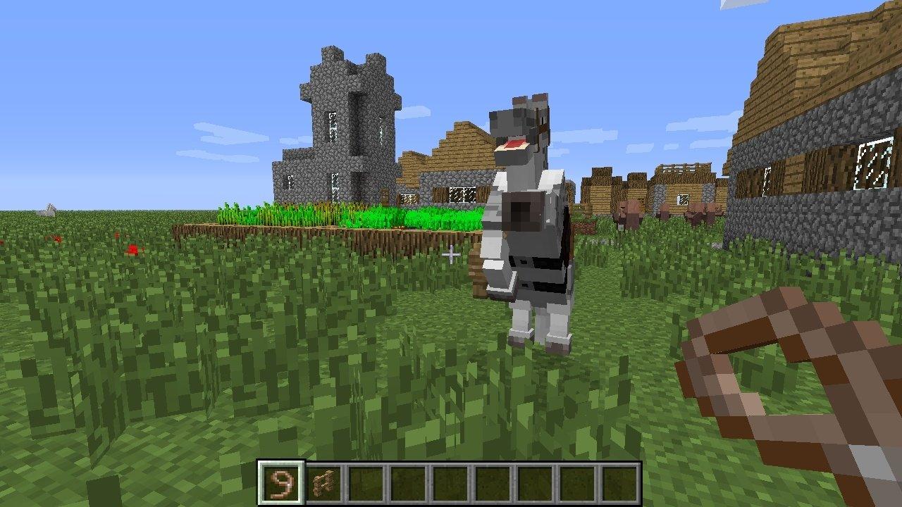 Minecraft Ein Klotz Den Sie Pferd Nannten GameStar - Minecraft bogen spiele