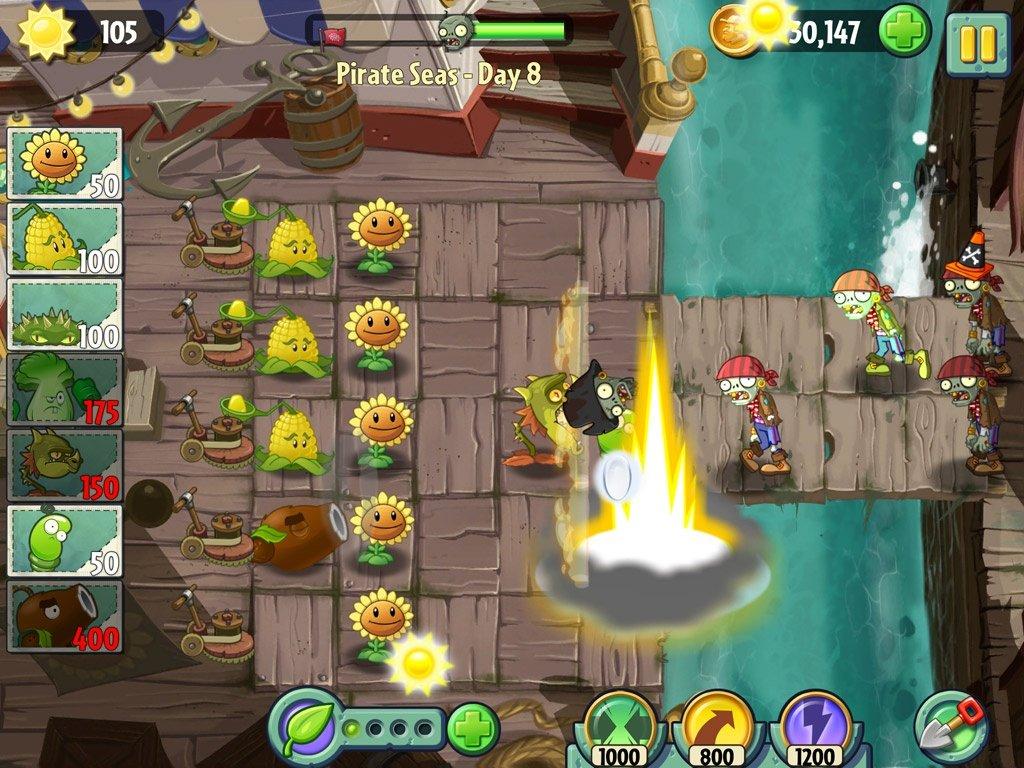 Plants Vs Zombies 2 Strategiespiel Weltweit Für Ios