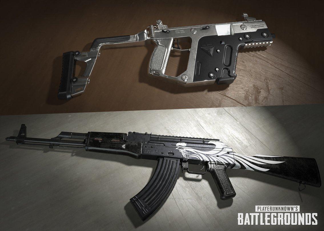 Playerunknown S Battlegrounds Maps Loot Maps Pictures: Waffen-Skins Angekündigt, Erste Bilder
