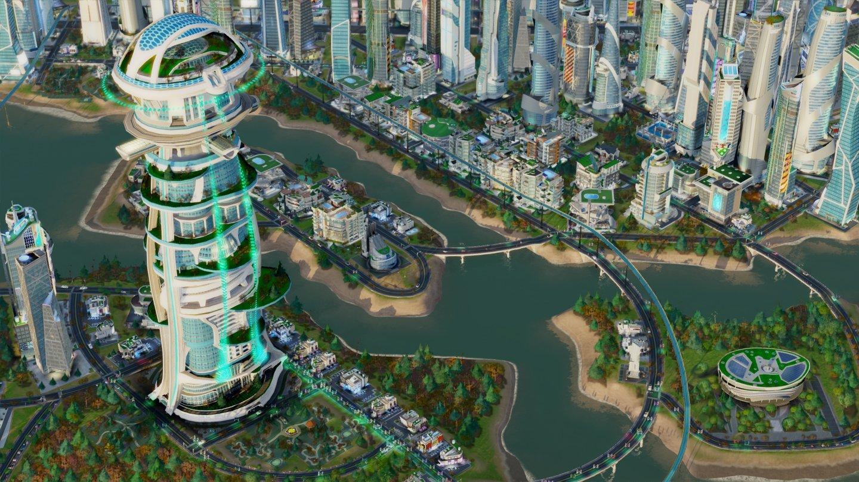 Simcity Neue Details Zur Erweiterung Städte Der Zukunft Gamestar