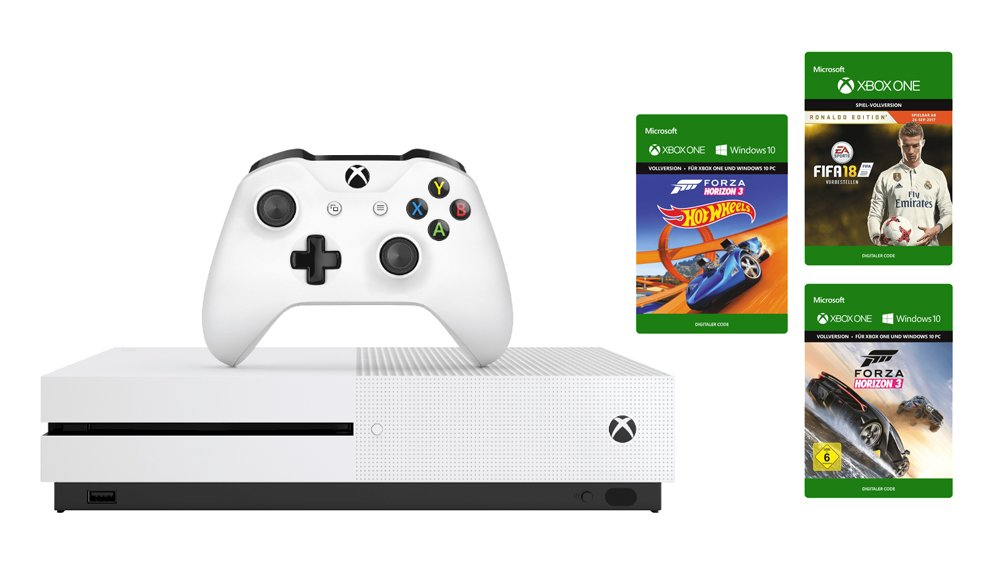 xbox one s bundle mit fifa 18 forza 3 nur 249 huawei p10 lite f r 222 fr hshoppen. Black Bedroom Furniture Sets. Home Design Ideas