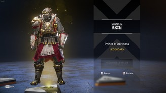 Apex Legends - Prince of Darkness Legendary Caustic Skin