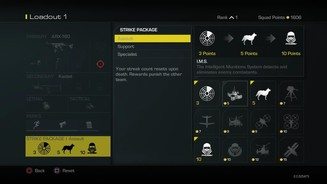 Call of Duty: Ghosts - Perks und Streaks