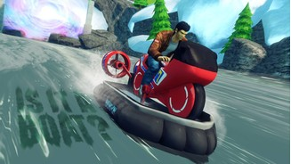 <b>Sonic & All-Stars Racing Transformed</b><br/>Screenshot mit Ryo Hazuki