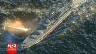 War Thunder - Screenshots aus den »Naval Battles«