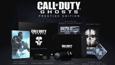 Call of Duty: Ghosts - Offizieller Unboxing-Trailer zur Hardened & Prestige Edition
