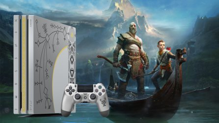 God of War - Schnappt euch eine limitierte PS4 Pro im God-of-War-Design