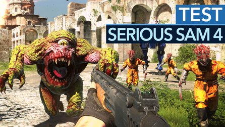 Serious Sam 4 - Test-Video zum brachialen Ego-Shooter