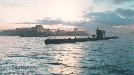 World of Warships - Neuer Gameplay-Trailer zeigt U-Boote in Aktion