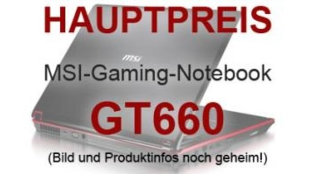 1x MSI-Gaming-Notebook GT660