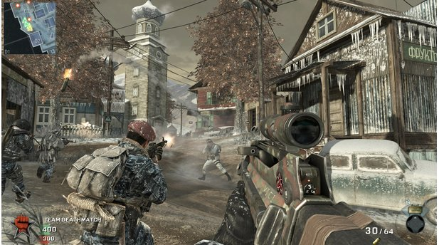 Call of Duty: Black Ops - Escalation-DLC: Screenshot von der Map Stockpile