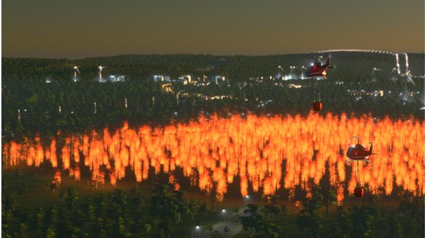 Cities: Skylines - Screenshots zum DLC »Natural Disasters«