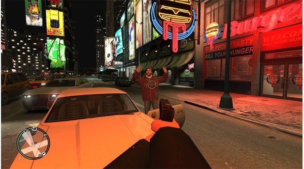 Grand Theft Auto 4 - Bilder zur First-Person-Mod