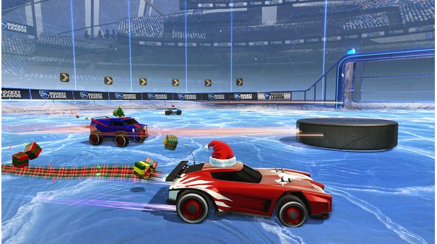 Rocket LeagueScreenshots vom dem Event »Winter Games«