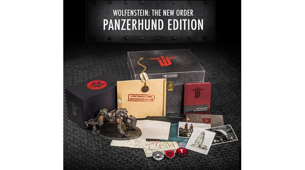 Wolfenstein: The New Order - Collector's Edition: Panzerhund