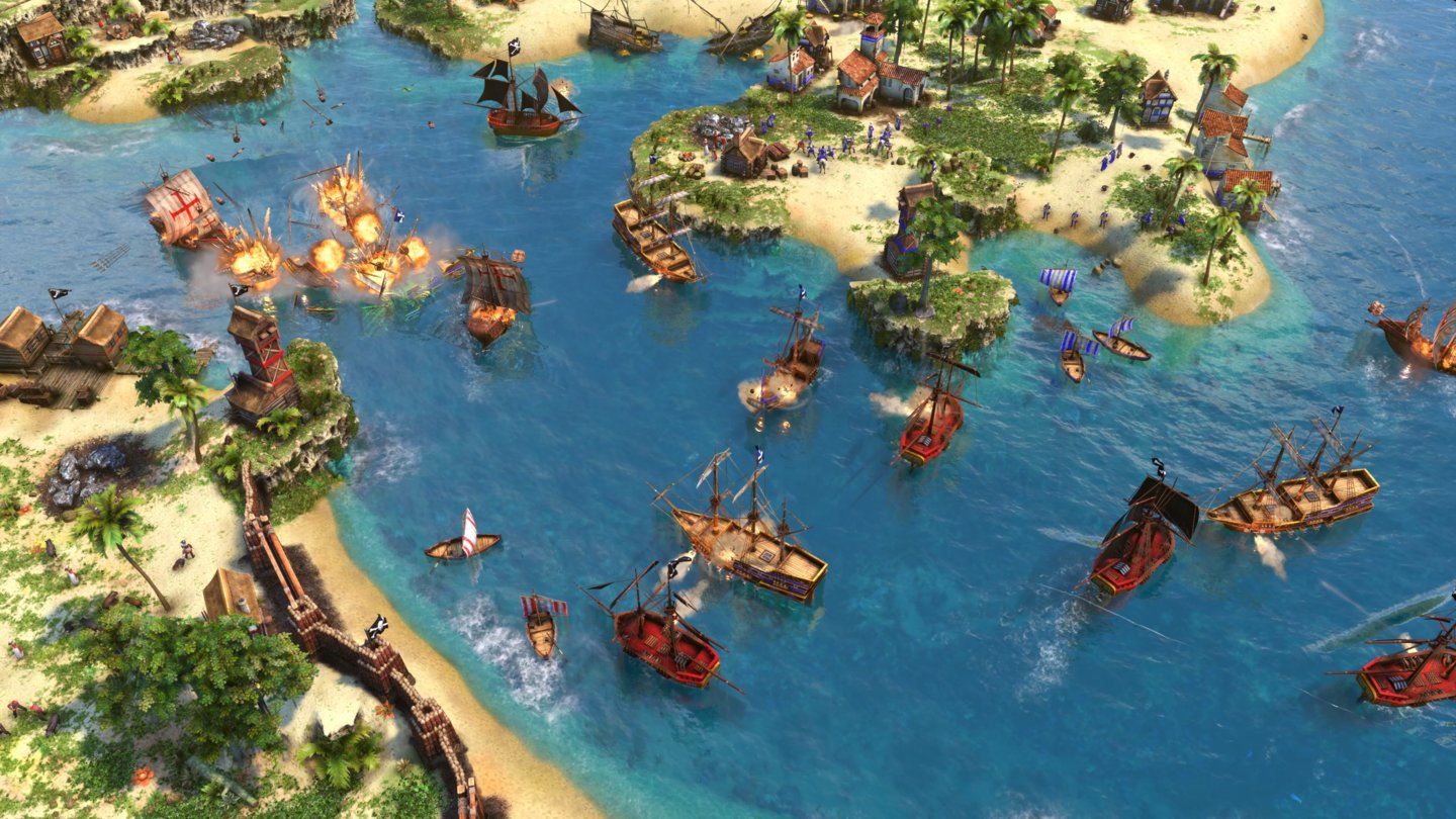 Age of Empires 3: Definitive Edition - Seeschlacht