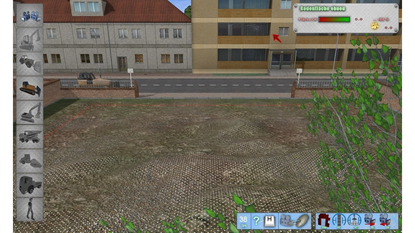 Bagger-Simulator 2011PC-Screenshots aus der Test-Version.