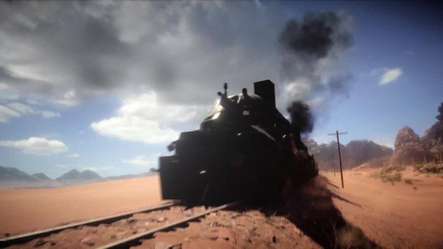 Battlefield 1 - Screenshots aus dem Ankündigungs-Trailer (Ingame-Engine)
