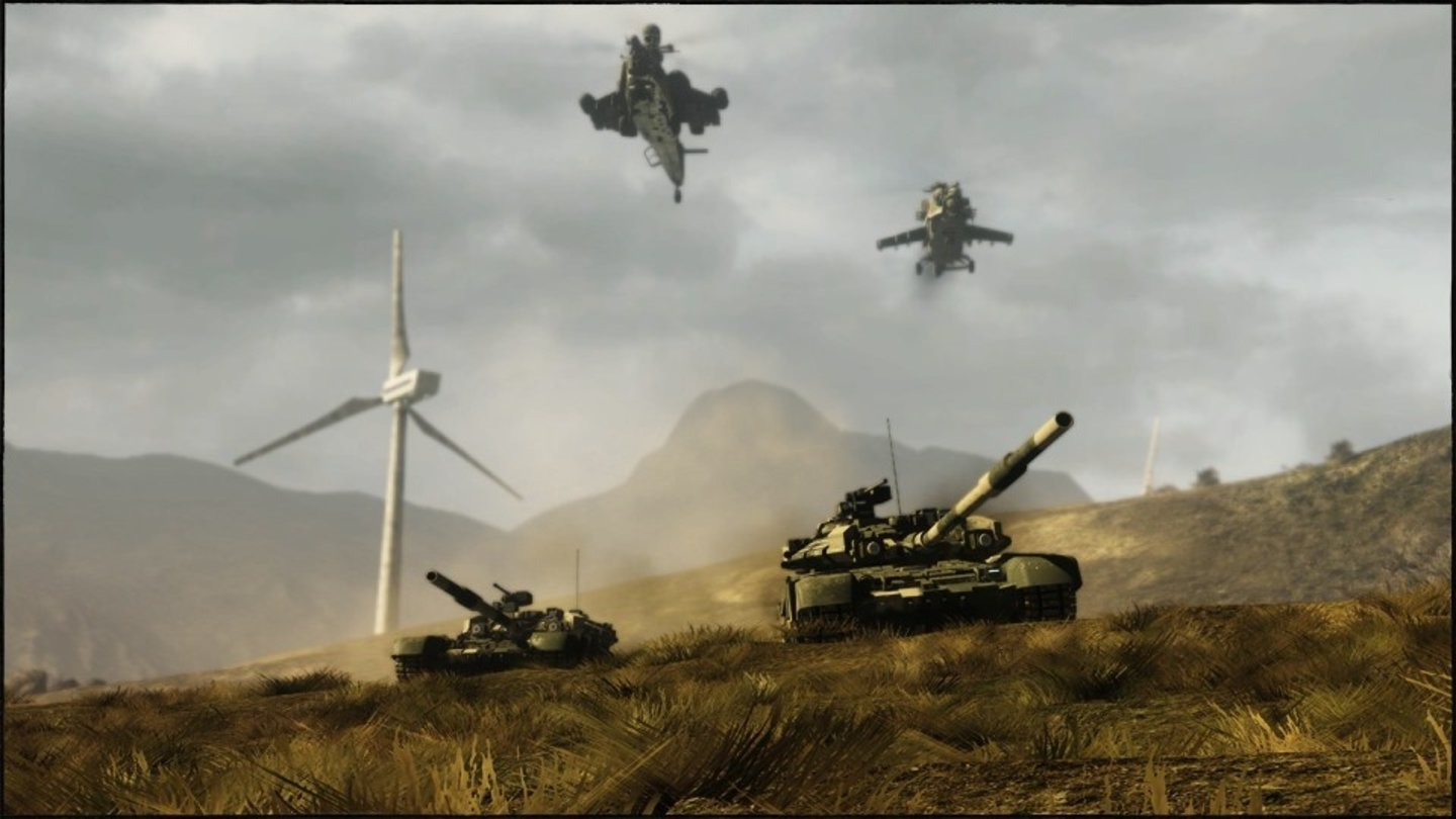 Battlefield: Bad Company 2Screenshots der Multiplayer-Karte »Heavy Metal« aus dem VIP Map-Pack 7 für Bad Company 2.