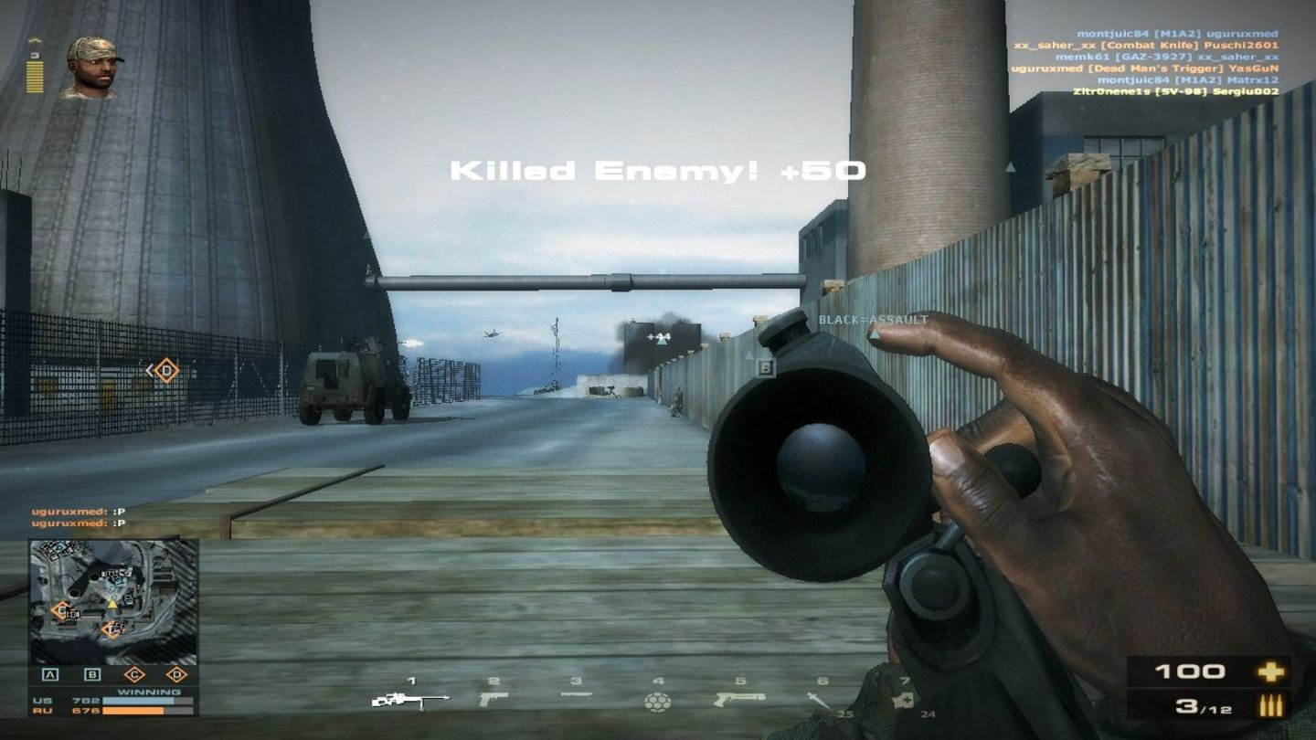 Battlefield Play4FreeBoom, Headshot! Gleich gibt's Punkte!